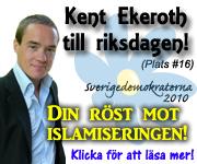 Kent Ekeroth, Sverigedemokrat och islamofob med rätt att ljuga om sharia.